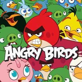Angry Birds Toons is listed (or ranked) 25 on the list The Best Bird Cartoons