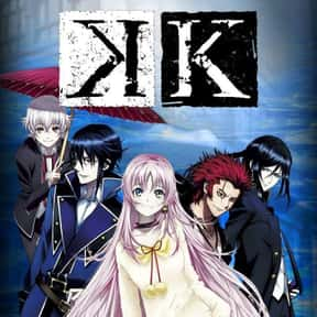 K is listed (or ranked) 26 on the list The 100+ Best Anime Streaming On Hulu