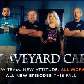 Graveyard Carz is listed (or ranked) 22 on the list The Best Car TV Shows