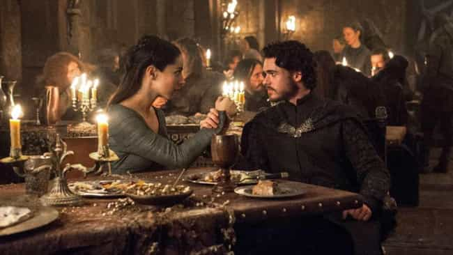 The Rains of Castamere is listed (or ranked) 4 on the list These Are The Only 'Game Of Thrones' Episodes You Need To Watch To Prepare For Season 8