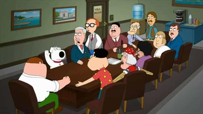 12 and a Half Angry Men is listed (or ranked) 4 on the list All The 'Family Guy' Parody Episodes, Ranked