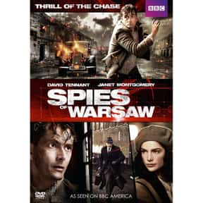 Spies of Warsaw is listed (or ranked) 24 on the list The Greatest TV Shows Set in the '30s