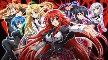High School DxD is listed (or ranked) 1 on the list The Best Fan Service Anime of All-Time