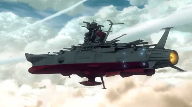 Space Battleship Yamato ... is listed (or ranked) 4 on the list 15 Extraordinary Anime About Life In Outer Space