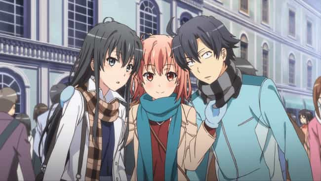 My Teen Romantic Comedy SNAFU is listed (or ranked) 1 on the list 14 Anime With Insanely Dark Humor