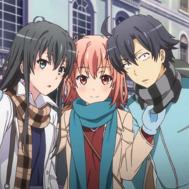 My Teen Romantic Comedy SNAFU is listed (or ranked) 1 on the list The Best Anime Like Hyouka