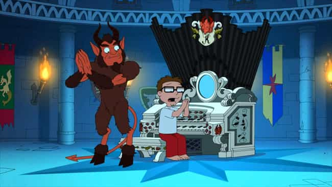 Minstrel Krampus is listed (or ranked) 3 on the list The Best Christmas Episodes On 'American Dad!'