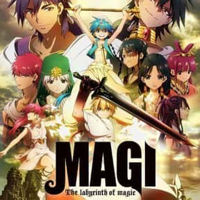 Magi: The Labyrinth Of Magic is listed (or ranked) 14 on the list The Best English-Dubbed Anime on Netflix