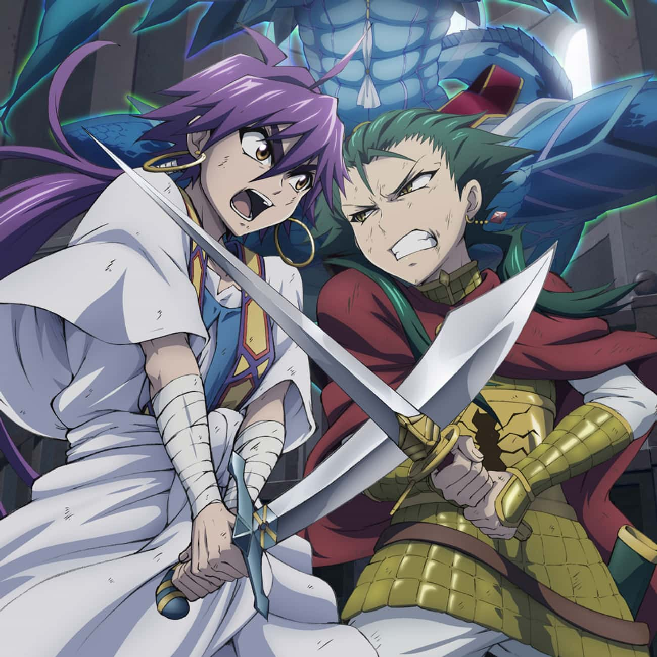 'Magi: Adventure Of Sinbad is listed (or ranked) 1 on the list 19 Fantastic Anime Spin-Offs That Are Totally Worth Watching