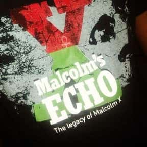 Malcolm's Echo is listed (or ranked) 5 on the list The Best Malcolm X Movies, Ranked