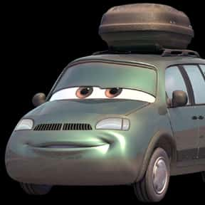 Van is listed (or ranked) 25 on the list List of Cars 2 Characters