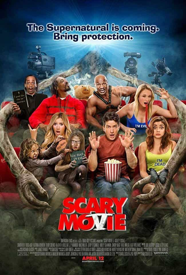 Scary Movie 5 is listed (or ranked) 4 on the list The Best Scary Movie Movies