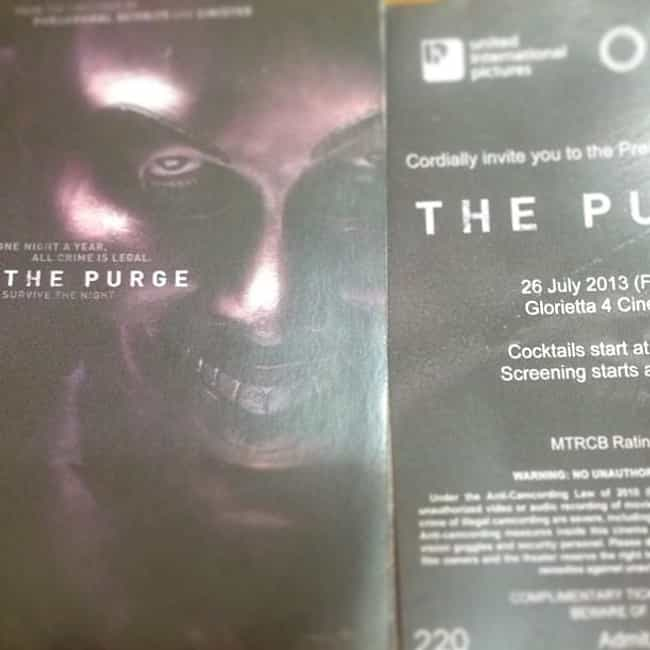 The Purge is listed (or ranked) 3 on the list What to Watch If You Love Nerve
