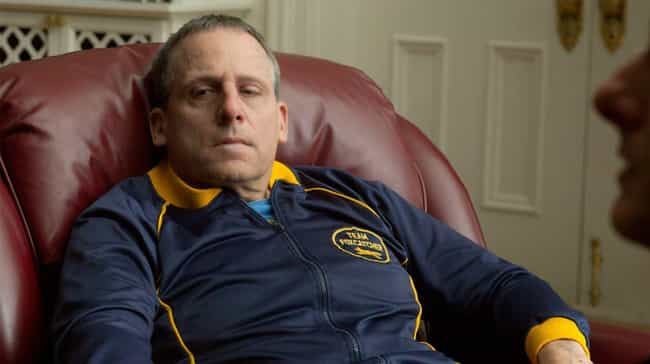 Foxcatcher is listed (or ranked) 3 on the list Serious Movies With Heavy Reputations That Are Accidentally Hilarious