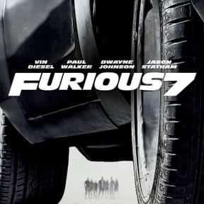 Furious Seven is listed (or ranked) 22 on the list The Highest-Grossing PG-13 Rated Movies Of All Time