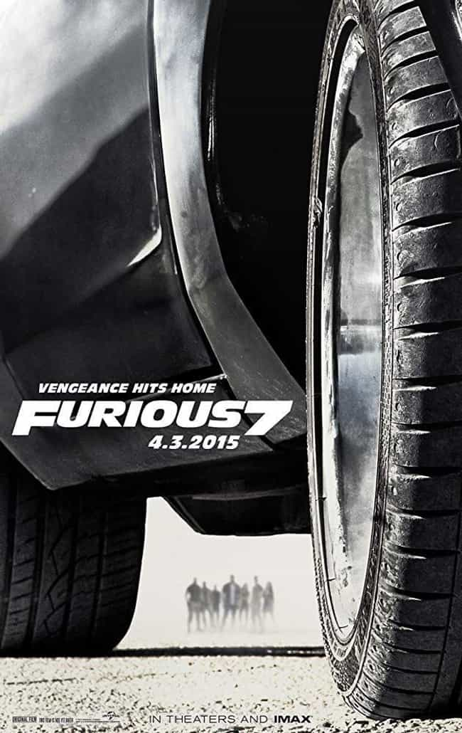 Furious 7 is listed (or ranked) 4 on the list All 9 'Fast and Furious' Movies, Ranked Best to Worst