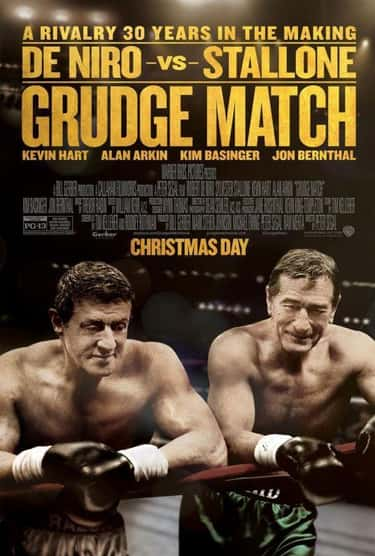 Grudge Match - Bodies That Tur is listed (or ranked) 2 on the list Movie Posters Where Actors Heads Are Clearly Photoshopped Onto Different Bodies