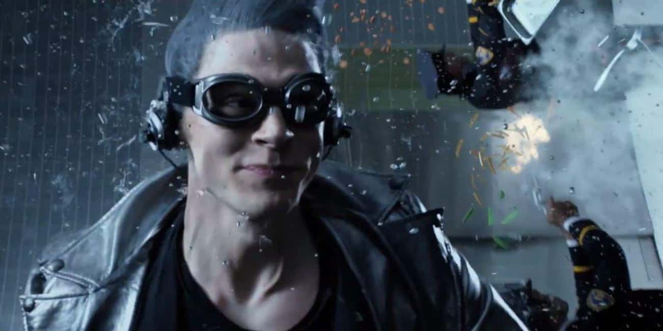 'X-Men: Days of Future Past' - The Time In A Bottle Scene