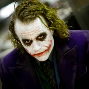 The Joker is listed (or ranked) 5 on the list The Most Likable Movie Antiheroes