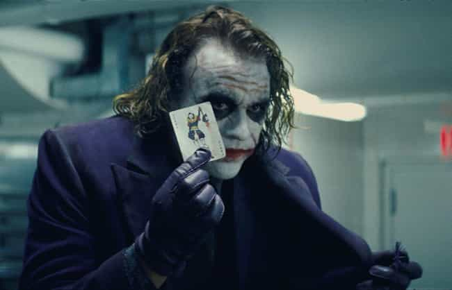 The Joker is listed (or ranked) 1 on the list The Most Controversial Casting Decisions of All Time