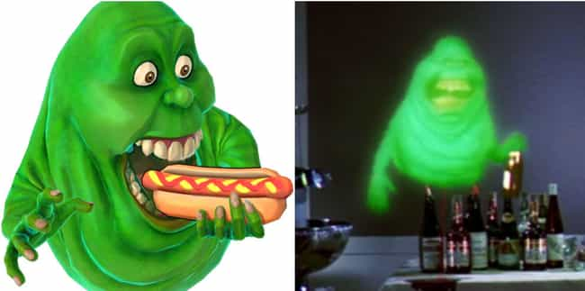 Slimer is listed (or ranked) 2 on the list Every Ghost In The Ghostbuster Films And Their In-Game Counterparts