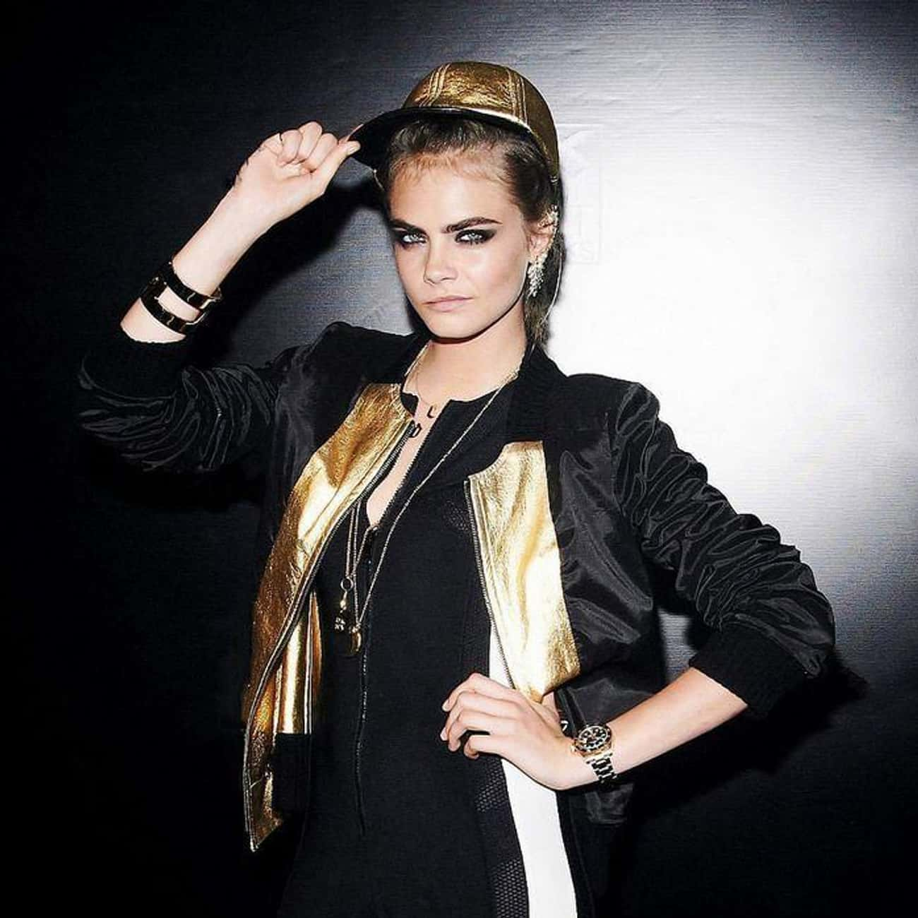 Cara Delevingne is listed (or ranked) 2 on the list Who Did These Eventually Famous Kids Grow Up To Be?