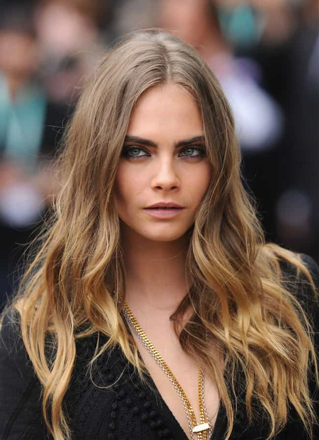Cara Delevingne is listed (or ranked) 2 on the list Michelle Rodriguez Loves and Hookups