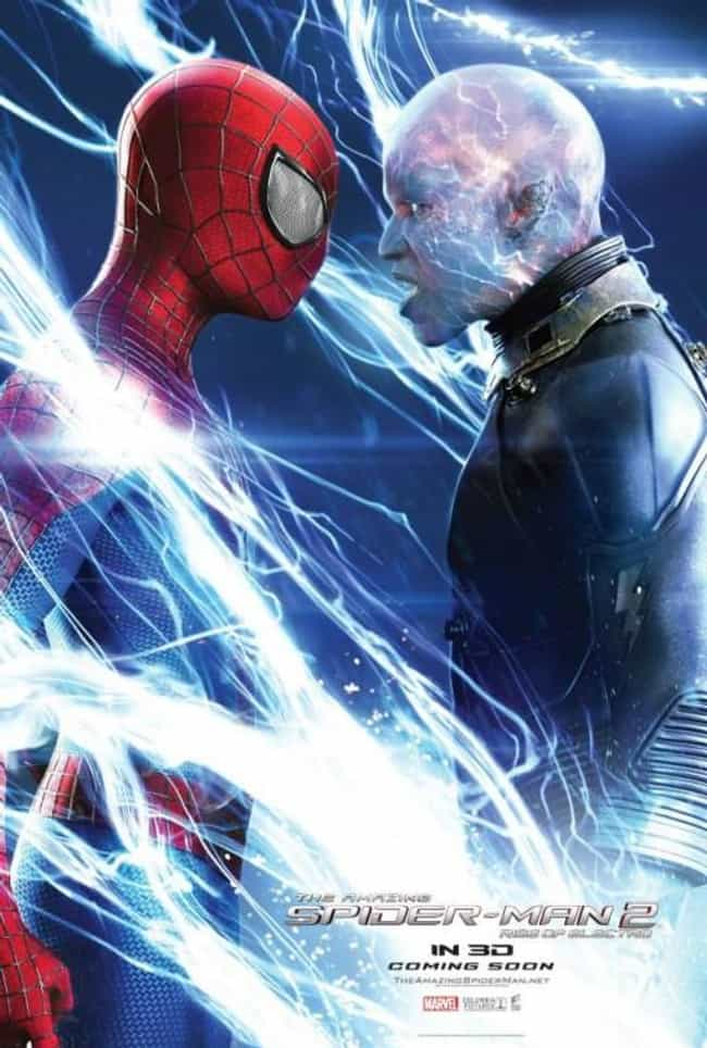 The Amazing Spider-Man 2... is listed (or ranked) 1 on the list The Worst Comic Book Movie Posters