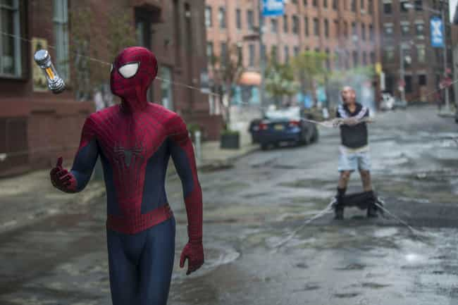 The Amazing Spider-Man 2 is ranked # 1 on the Ranking Every Live-Action Spider-Man Costume list