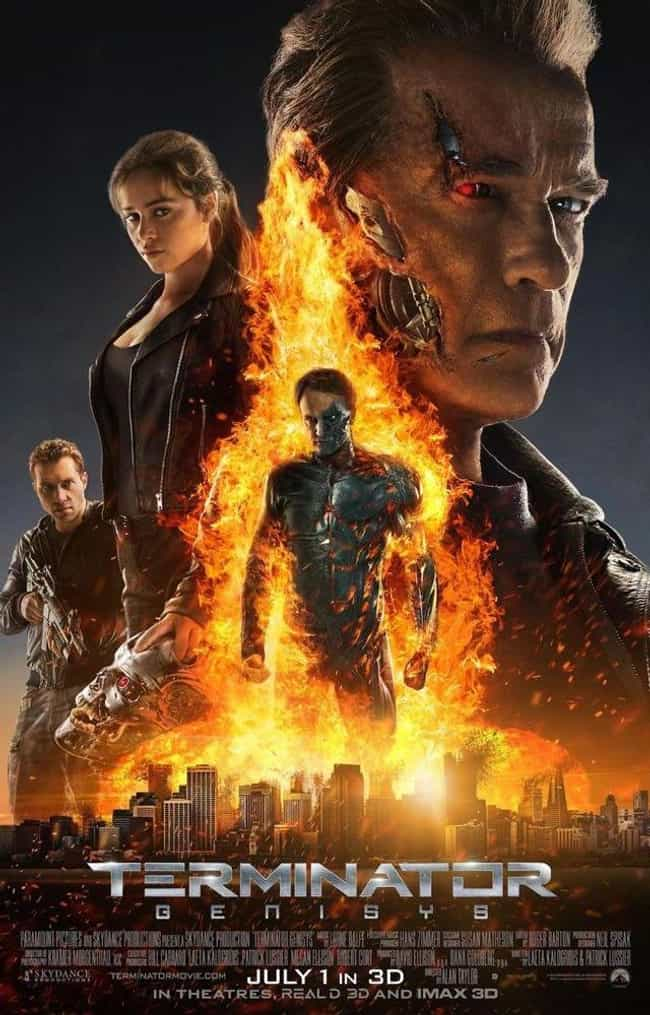 Terminator Genisys is listed (or ranked) 4 on the list The Best Movies In The 'Terminator' Franchise