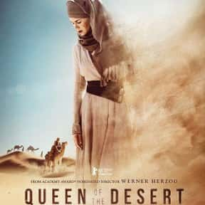 Queen of the Desert is listed (or ranked) 24 on the list The Best Robert Pattinson Movies