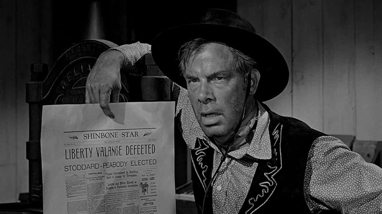 1962: Liberty Valance - 'The M is listed (or ranked) 3 on the list Who Was The Signature Movie Villain The Year You Were Born?