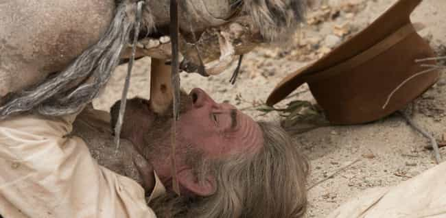 Bone Tomahawk is listed (or ranked) 2 on the list Pretty Good Horror Movies That Take Place In The Desert