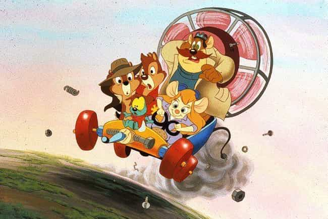 Chip 'n Dale Rescue Rangers is listed (or ranked) 4 on the list 15 Bingeable Animated Series You Didn't Realize Were On Disney+, Ranked