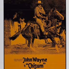 Chisum is listed (or ranked) 21 on the list The Best John Wayne Movies of All Time, Ranked