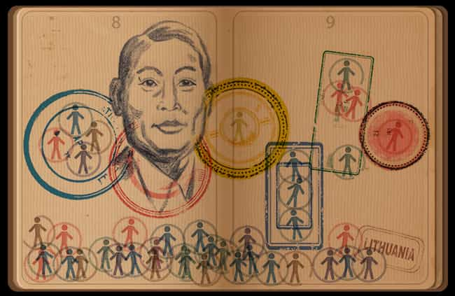 Chiune Sugihara is listed (or ranked) 1188 on the list Every Person Who Has Been Immortalized in a Google Doodle