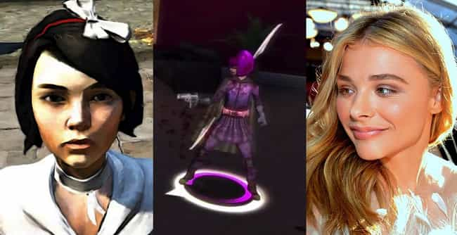 Chloë Grace Moretz is listed (or ranked) 3 on the list 24 Huge Celebrities Who Secretly Voiced Your Favorite Video Game Characters