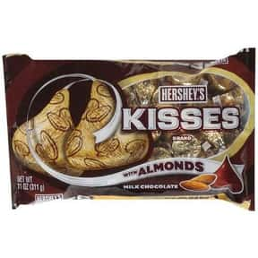Hershey's Kisses with Almo is listed (or ranked) 7 on the list The Best Hershey's Kisses Flavors