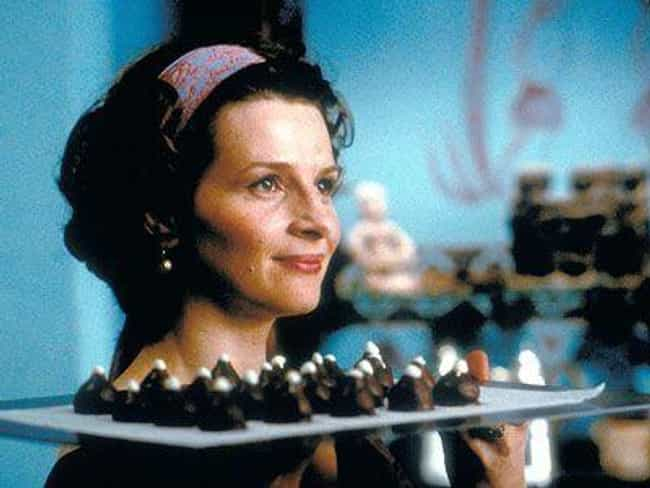 Chocolat is listed (or ranked) 3 on the list The Best Cinematic Chefs Of All Time