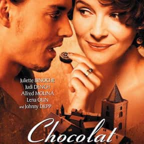 Chocolat is listed (or ranked) 21 on the list The Best Johnny Depp Movies