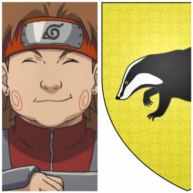 Choji Akimichi is listed (or ranked) 2 on the list Here's What Hogwarts House Your Favorite Naruto Characters Would Be Placed In