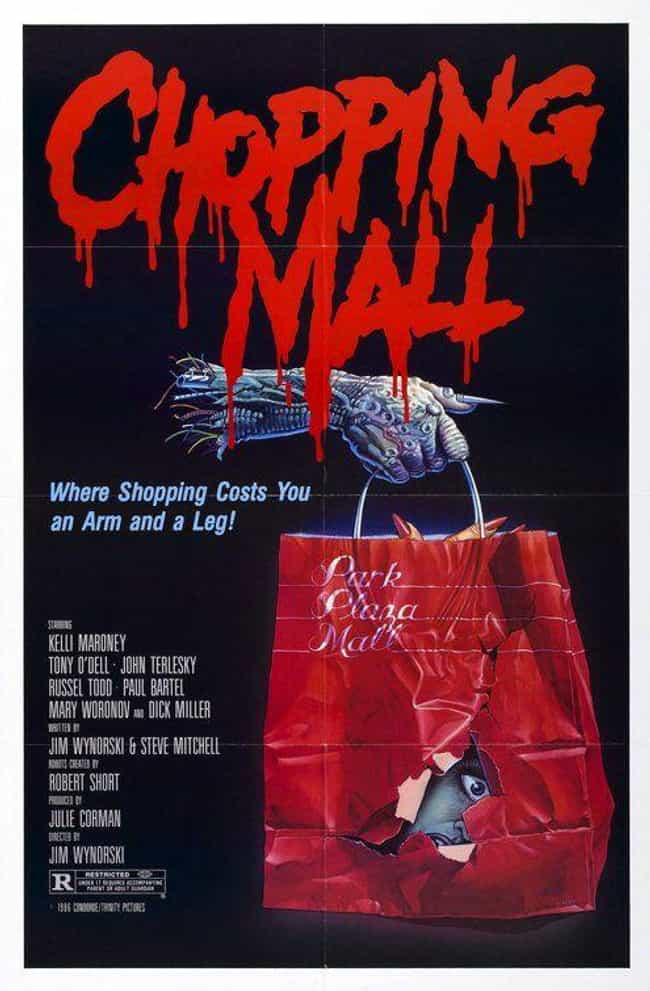 Chopping Mall is listed (or ranked) 1 on the list The Most Pun-Tastic Horror Movie Taglines