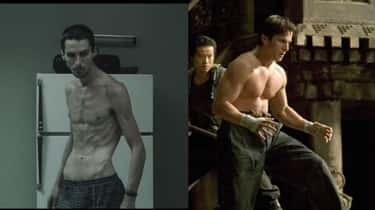 Christian Bale is listed (or ranked) 2 on the list What Ripped Celebrities Looked Like Before They Got Swole AF
