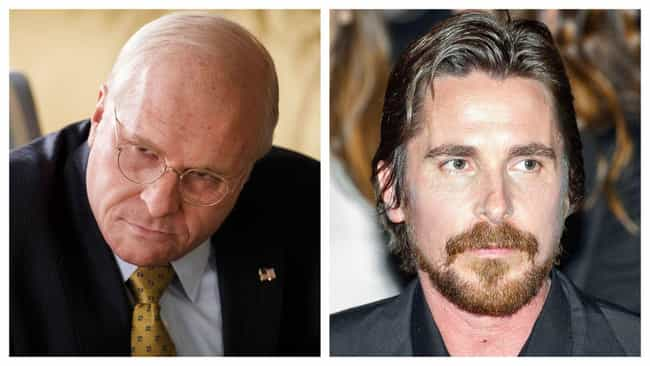 Christian Bale is listed (or ranked) 3 on the list Dreamboat Actors' And Actresses' Roles They Took To Be Taken Super-Seriously, Ranked