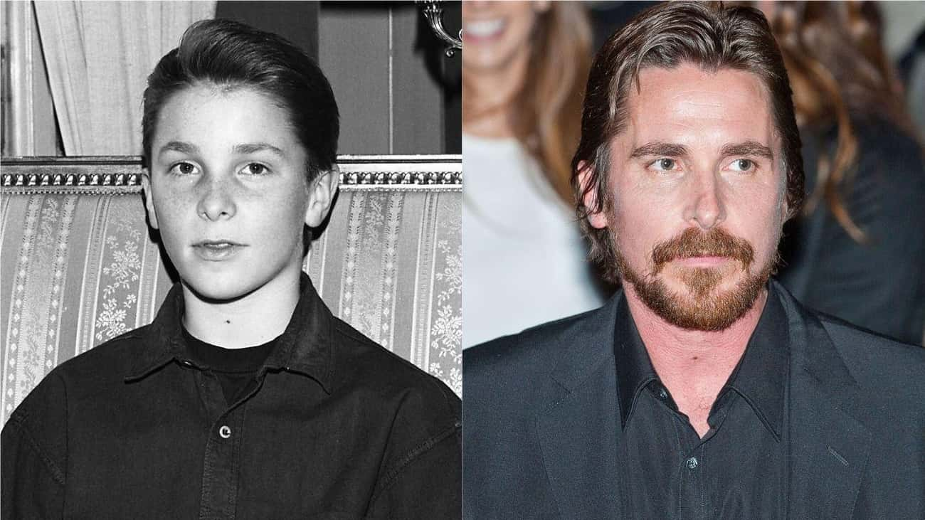 Christian Bale, 1988 Vs. 2014 is listed (or ranked) 3 on the list How 30 A-Listers Changed Over Time