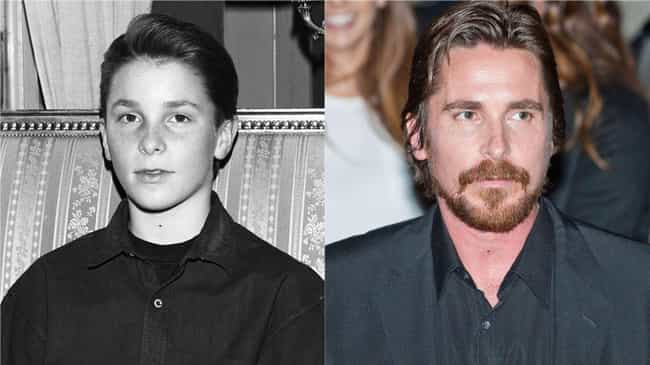 Christian Bale is listed (or ranked) 3 on the list How 30 A-Listers Changed Over Time