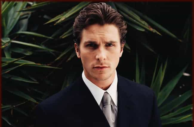 Christian Bale is listed (or ranked) 4 on the list Who Was the Most Attractive Actor at 25 Years Old?