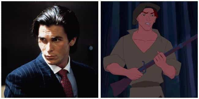 Christian Bale is listed (or ranked) 4 on the list 16 Random Actors You Didn't Realize Voiced Your Favorite Cartoon Characters