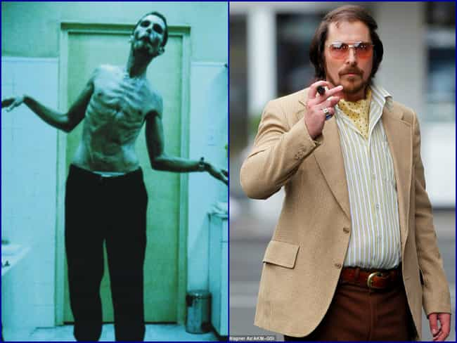 Christian Bale is listed (or ranked) 1 on the list The 12 Most Extreme Actor Transformations