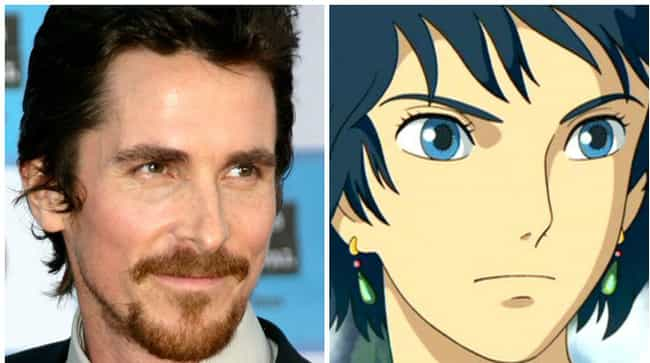 Christian Bale is listed (or ranked) 2 on the list 18 Times American Celebrities Lent Their Voice To Anime